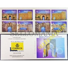 2015 ARCOS Y PUERTAS MONUMENTALES EDIFIL 4924C CARNE   4924 / 27 ** MNH  TC20466