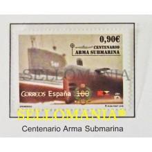 2015 EFEMERIDES CENTENARIO ARMA SUBMARINA EDIFIL 4951 ** MNH  S61  S81   TC20479
