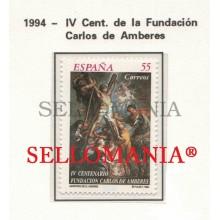 1994 EFEMERIDES FUNDACION CARLOS DE AMBERES CROSS EDIFIL 3298 ** MNH TC22342