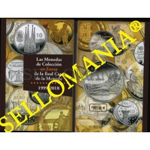 CATALOGO MONEDAS DE COLECCION EN EUROS DE LA REAL CASA MONEDA   1999 - 2018