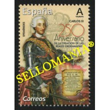 2019 REALES ORDENANZAS CARLOS III ROYAL ORDINANCES  ** MNH TC22524