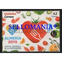 2019 GASTRONOMIA GASTRONOMY ALMERIA CAPITAL GASTRONOMICA GAMBAS   ** MNH TC22526