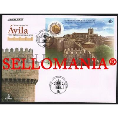 2019 AVILA PATRIMONIO MUNDIAL WORLD HERITAGE WALLS MURALLAS SPD FDC TC22546