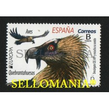 2019 EUROPA EUROPE QUEBRANTAHUESOS BEARDED VULTURE AVES BIRDS ** MNH TC22559