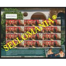 2019 MUSEO SOROLLA MADRID MUSEUM PLIEGO PREMIUM SHEET   ** MNH TC22566