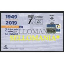 2019 CONSEJO DE EUROPA COUNCIL OF EUROPE (1949 - 2019) SPD FDC TC22578