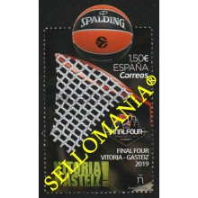 2019 FINAL FOUR VITORIA EUROLIGA BALONCESTO BASKET EUROLEAGUE ** MNH TC22583