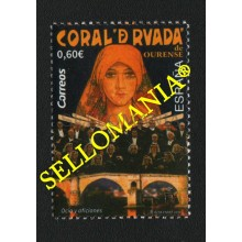 2019 CORAL DE RUADA OURENSE CHOIR CORO CHORUS CANTANTES SINGERS  ** MNH TC22605