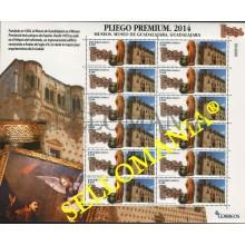 2014 MUSEO DE GUADALAJARA MUSEUM PLIEGO PREMIUM 4873 ** MNH TC22654