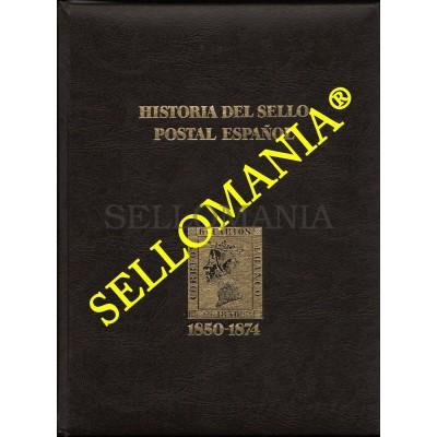 HISTORIA DEL SELLO POSTAL ESPAÑOL TOMO I 1850 - 1874 ISABEL II MONTALBAN CUEVAS  TC22787