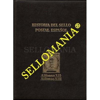 HISTORIA DEL SELLO POSTAL ESPAÑOL TOMO II ALFONSO XII  Y  XIII  MONTALBAN CUEVAS  TC22788