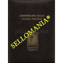 HISTORIA DEL SELLO POSTAL ESPAÑOL TOMO III 1931 - 1939 II REPUBLICA   MONTALBAN  TC22789