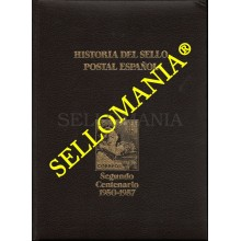HISTORIA DEL SELLO POSTAL ESPAÑOL TOMO V SEGUNDO CENTENARIO 1950 1957  MONTALBAN  TC22791