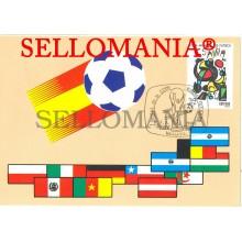 TARJETA MAXIMA COPA MUNDIAL FUTBOL WORD FOOTBALL CUP SOCCER MAXIMUM CARD TC22662