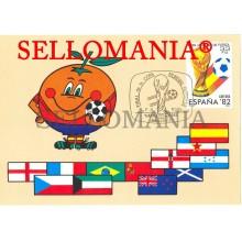 TARJETA MAXIMA COPA MUNDIAL FUTBOL WORD FOOTBALL CUP SOCCER MAXIMUM CARD TC22663