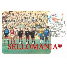 TARJETA MAXIMA BRASIL URSS FUTBOL WORD FOOTBALL SOCRATES MAXIMUM CARD TC22664
