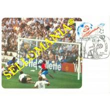 TARJETA MAXIMA ITALIA ALEMANIA FUTBOL WORD FOOTBALL SOCCER MAXIMUM CARD TC22665