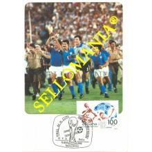 TARJETA MAXIMA ALEMANIA ITALIA FUTBOL WORD FOOTBALL ZOFF MAXIMUM CARD TC22667