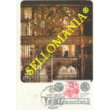 TARJETA MAXIMA EUROPA VERJA CAPILLA REAL GRANADA 2657 MAXIMUM CARD TC22668