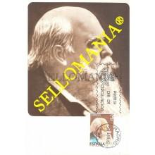 TARJETA MAXIMA MANUEL FERNANDEZ CABALLERO ZARZUELA MUSICA MAXIMUM CARD TC22670