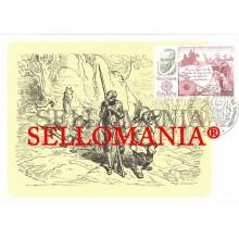 1983 TARJETA MAXIMA CARD EUROPA DON QUIJOTE QUIXOTE CERVANTES  TC22690