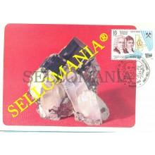 1983 TARJETA MAXIMA CARD WOLFRAMIO HERMANOS DE ELHUYAR 2715 MINERAL   TC22697