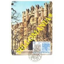 1984 TARJETA MAXIMA BURGOS ARCO SANTA MARIA ARC MAXIMUM CARD   2743   TC22700