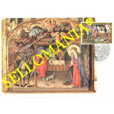 1984 TARJETA MAXIMA CARD NAVIDAD CHRISTMAS MUSEO DIOCESANO DE PALMA TC22702