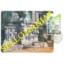 1982 TARJETA MAXIMA CARD ESCULTURA PADRES SALESIANOS VIGO SCULPTURE 2684 TC22731