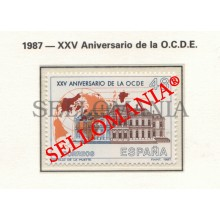1987 ECONOMIC COOPERATION CHÂTEAU MUETTE OCDE PARIS 2874 MNH ** TC22798 FR