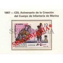 1987 INFANTERIE MARINE INFANTRY BOATS BARCOS BATEUAUX 2885 MNH ** TC22802 FR