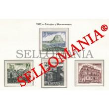 1987 IFACH CALPE PONTEVEDRA SOÑANES CANTABRIA   2900 / 03 MNH ** TC22807 FR