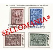 1988 PATRIMOINE HUMANITE WORD HERITAGE PATRIMONIO 2978 / 81 MNH ** TC22845 FR