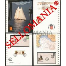 1988 TROPHEE ALMIRANTE BATEAU A VOILE BOAT VELERO SHIP 10 DOCUMENTO TC22849 FR