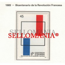 1989 REVOLUTION FRANÇAISE FRENCH REVOLUTION REVOLUCION 2988 MNH ** TC22851 FR