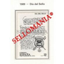 1989 COAT ARMS COUNT COMTE CONDE VILLAMEDIANA BLASON 2999 MNH ** TC22856 FR