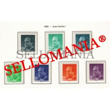 1989 JUAN CARLOS I SPAIN KING ROI D'ESPAGNE REY  3001 / 07  MNH ** TC22858 FR