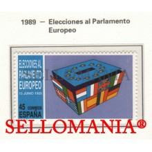 1989 ELECTIONS PARLEMENT EUROPEEN ELECTIONS EU UE FLAG 3015 MNH ** TC22863 FR