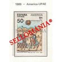 1989 AMERIQUE AMERICA PRECOLOMBIEN PRECOLOMBINOS UPAE 3035 MNH ** TC22872 FR