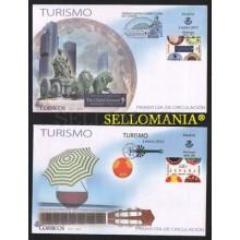 2015 TURISMO MADRID THE GLOBAL SUMMIT   EDIFIL 4928 / 29  SPD  FDC       TC20544