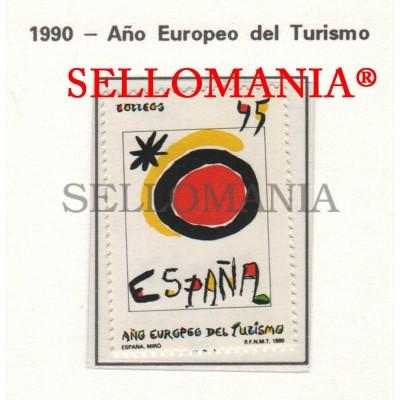 1990 TOURISME TOURISM TURISMO JOAN MIRO ART ARTE  3091 MNH ** TC22895 FR