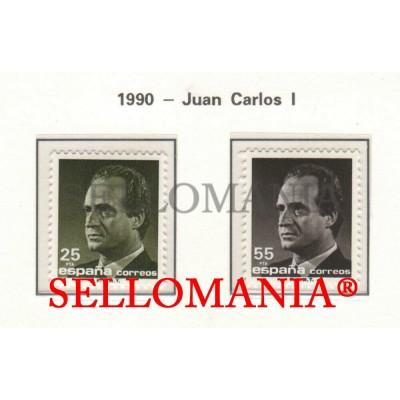 1990 JUAN CARLOS I KING SPAIN ROI ESPAGNE  3096 / 97 MNH ** TC22897 FR