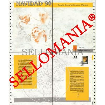 1990 CHRISTMAS NOËL NAVIDAD WEIHNACHTEN NATALE JUL DOCUMENTO 15  TC22899 FR
