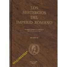 SESTERCIOS IMPERIO ROMANO MARCO AURELIO A CARACALLA 161 d.C. AL 217 d.C TOMO III