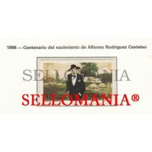 1986 ALFONSO RODRIGUEZ CASTELAO ESCRITEUR WRITER 2873 MNH ** TC22923 FR