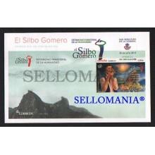 2015 PATRIMONIO INMATERIAL HUMANIDAD SILBO GOMERO EDIFIL 4987 SPD FDC    TC20565