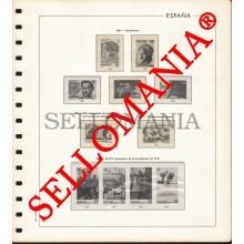 SUPLEMENTO EDIFIL AÑOS 1987 / 89  SELLOS ESPAÑA MONTADO ESTUCHES TRANSPARENTES  TC23508
