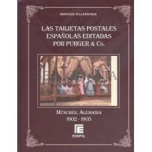 LAS TARJETAS POSTALES ESPAÑOLAS EDITADAS POR PURGER & CO EDIFIL 2013