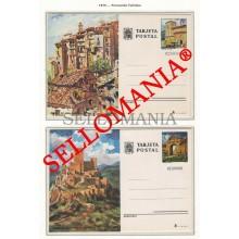1975 TURISMO TOURISM ENTERO POSTAL CUENCA JAEN ** MNH 111 /12 POSTCARD TC23154