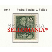 1947 PADRE BENITO FEIJOO BLESSED FATHER PRETRE BENOIT 1011 MNH ** TC23470 FR